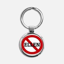 ELLEN Round Keychain