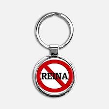 REINA Round Keychain