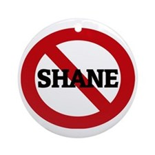 SHANE Round Ornament