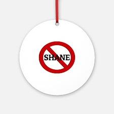 SHANE Round Ornament
