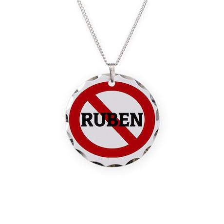 RUBEN Necklace Circle Charm
