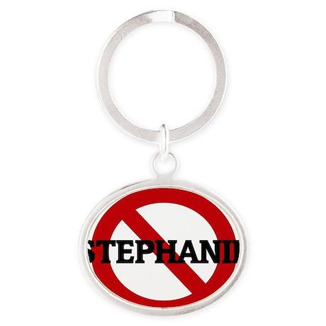 STEPHANIE Oval Keychain