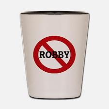 ROBBY Shot Glass