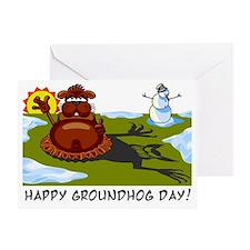 groundhogday1 Greeting Card