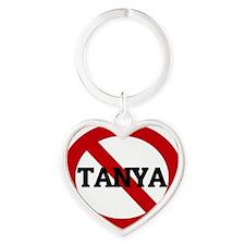 TANYA Heart Keychain