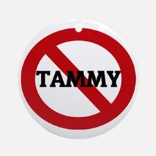 TAMMY Round Ornament