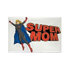 supermom2 Rectangle Magnet