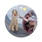 Creation of the Spinone Ornament (Round)