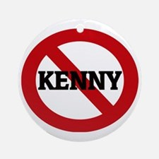 KENNY Round Ornament