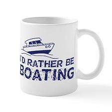I'd Rather Be Boating Mug