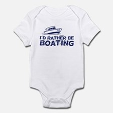 I'd Rather Be Boating Onesie