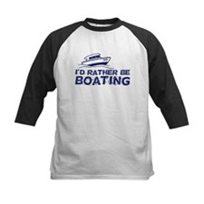 I'd Rather Be Boating Tee