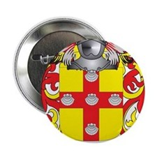 "Lavelle Coat of Arms - Family Crest 2.25"" Button"