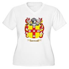 Lavelle Coat of Arms - Family Crest Plus Size T-Sh