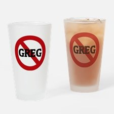 GREG Drinking Glass