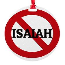 ISAIAH Ornament