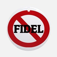 FIDEL Round Ornament