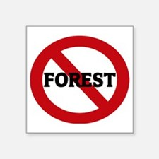 "FOREST Square Sticker 3"" x 3"""