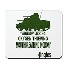 Window Licker Mousepad