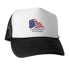 Courtney is my hero Trucker Hat