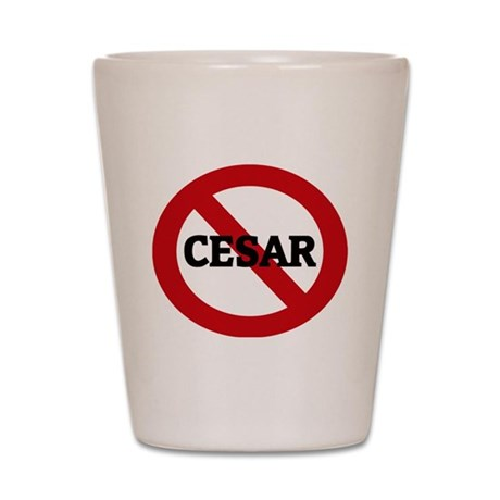 CESAR Shot Glass