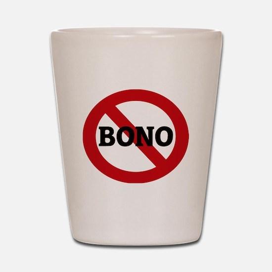 BONO Shot Glass