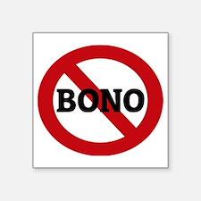 """BONO Square Sticker 3"""" x 3"""""""
