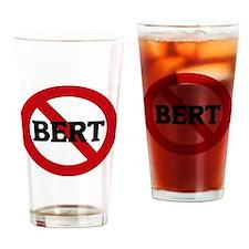 BERT Drinking Glass