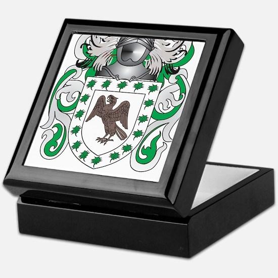 Lavery Coat of Arms - Family Crest Keepsake Box