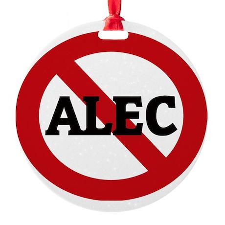 ALEC Round Ornament