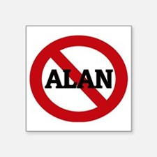 "ALAN Square Sticker 3"" x 3"""