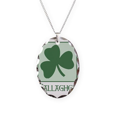 surname__Gallagher_A Necklace Oval Charm