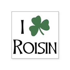 "shams__Roisin_A Square Sticker 3"" x 3"""
