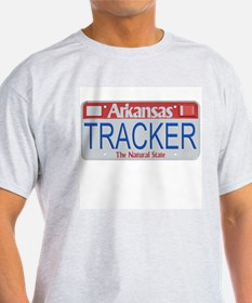 Arkansas Tracker Ash Grey T-Shirt