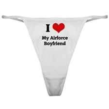 ilovemyairforcess Classic Thong