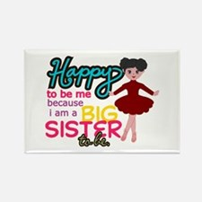 Happy to be Me - Big Sister Ballerina Rectangle Ma