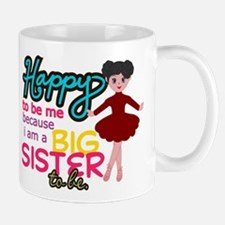 Happy to be Me - Big Sister Ballerina Mug