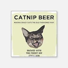 Crazy Catnip Beer light Sticker