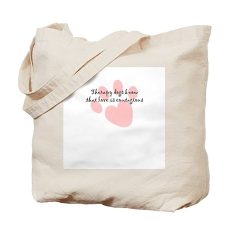 Love is Contagious Tote Bag