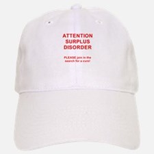 Attention Surplus Disorder Baseball Baseball Baseball Cap
