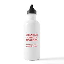 Attention Surplus Disorder Water Bottle