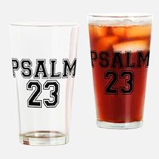 Psalm 23 Bible Verse Drinking Glass