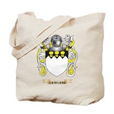 Lawless Coat of Arms - Family Crest Tote Bag