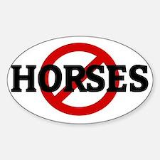 HORSES Decal