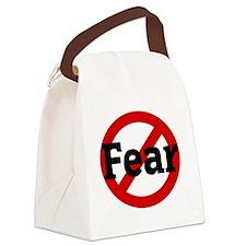 Fear Canvas Lunch Bag
