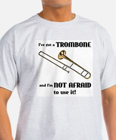 I've Got A Trombone Ash Grey T-Shirt