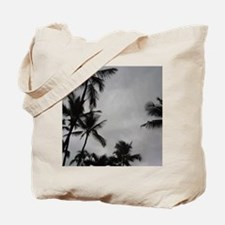 Palm Trees Sillouette Tote Bag