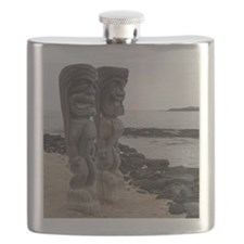 Place of Refuge Tikis Flask