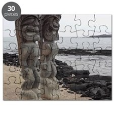 Place of Refuge Tikis Puzzle