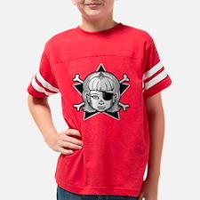 girl1-pir-star-T Youth Football Shirt